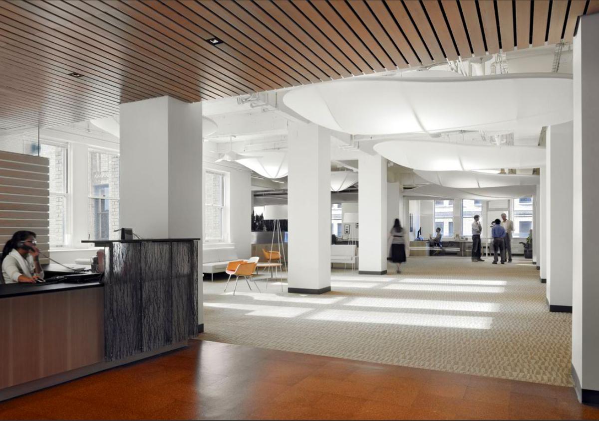 Commercial Interior Design Rendering Elegant Luxury: 2030 Challenge Group